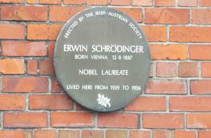 Plaque in Kincora Road, Clontarf