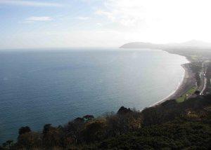 View of Killiney Bay to Bray